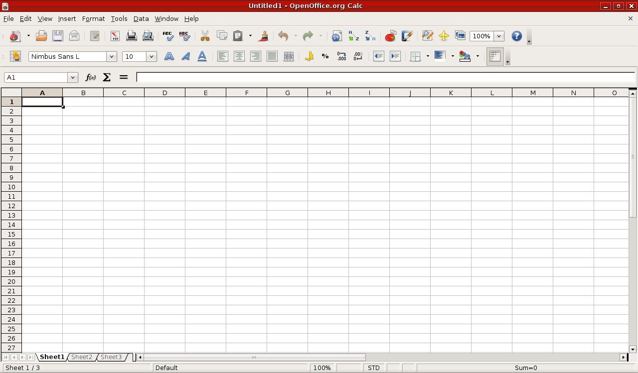 Spreadsheet - Just another Toosa's Weblog